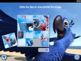 Rio Mini Games Windows Sliders mini game: assembling the puzzle.