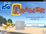Rio Mini Games Windows Framer app main screen.