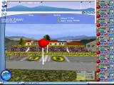Cycling Manager Windows The three buttons in the top left allow the player to zoom in and out of the race map in the top pane. This game has no labels on it's controls, text appears in the blue bar at the bottom