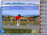 Cycling Manager Windows They're off. A race can take 30 minutes or more in real time so having controls to speed it up, which the cursor is now pointing to, is essential.