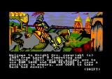 Knight Orc Amstrad CPC Welcome message