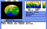 Starflight Amiga Choose where to land on a planet.