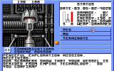 Starflight Amiga Communication with Mechan 9 - a group of androids.