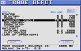 Starflight Atari ST Trade Depot.