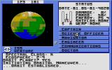 Starflight Atari ST Orbiting a picture.