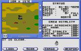 Starflight Atari ST Exploring a planet in the terrain vehicle.