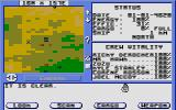 Starflight Atari ST Zoomed out view of planet's surface.