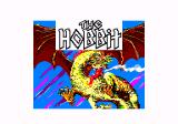 The Hobbit Amstrad CPC Loading screen