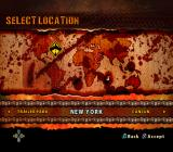Crusty Demons PlayStation 2 Stage selection.