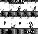 Castlevania: The Adventure Game Boy Taking the upper path