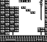 Castlevania: The Adventure Game Boy Climb Belmont, climb! The spikes will get you.