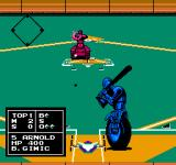 Base Wars - Cyber Stadium Series NES Batter Up between a Tank and a Motorcycle
