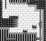 Castlevania: The Adventure Game Boy More spikes