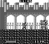 Castlevania: The Adventure Game Boy The boss of the first stage is a regular guy here.