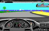 Test Drive II Scenery Disk: European Challenge DOS Sunny beaches at the Côte d'Azur (EGA)