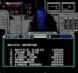 Base Wars - Cyber Stadium Series NES The parts shop is willing to sell you anything you need