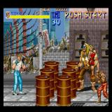 Final Fight Sharp X68000 Game start