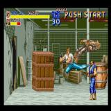 Final Fight Sharp X68000 Jumping attack