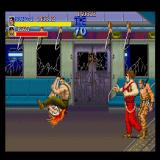 Final Fight Sharp X68000 Haggar using the piledriver