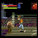 Final Fight Sharp X68000 Boss fight in a ring