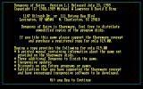 Dungeons of Kairn DOS Shareware information