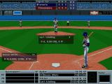 Front Page Sports: Baseball '94 DOS And the game starts!