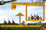 Siege Hero iPhone Age of discovery 2-15, some levels are clever contraptions