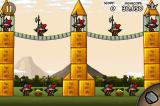 Siege Hero iPhone Age of discovery 2-40, the hanging bridge pulls on both towers