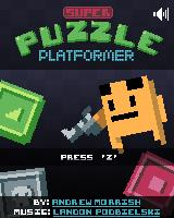 Super Puzzle Platformer Windows Title screen
