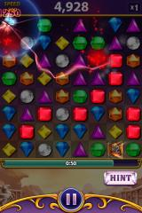 Bejeweled: Blitz iPhone Hypercube in action.