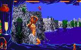 Emmanuelle: A Game of Eroticism Amiga Just bathing in the waterfall.