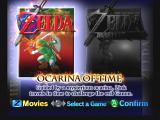 The Legend of Zelda: Ocarina of Time / Master Quest  GameCube Select the version of the game you want to play.