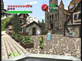 The Legend of Zelda: Ocarina of Time / Master Quest GameCube The Market is a relatively peaceful place when Link is young.