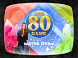 The 80's Game With Martha Quinn Windows The title screen.