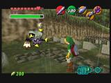 The Legend of Zelda: Ocarina of Time / Master Quest  GameCube This graveyard is full of ghosts.