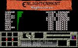 Enlightenment Amiga High score table.