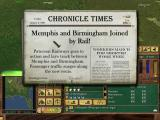 Railroad Tycoon 3 Windows Newspaper articles give you information on milestones.