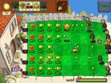 Plants vs. Zombies iPad My plants are holding off the zombies so far