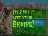 Plants vs. Zombies iPad The zombies got you! Try again?