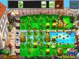 Plants vs. Zombies iPad It's mayhem! On this level you choose plants that arrive on the conveyor belt at the top of the screen