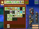 Plants vs. Zombies iPad Before each level you can choose which plants you want to use
