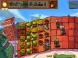Plants vs. Zombies iPad The zombies attack on the roof too