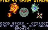 Wicked Amiga You have to wipe out the bad spores with your good spores.