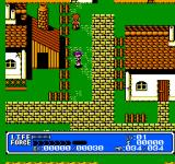 Crystalis NES The Town of Leaf