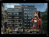 Wizardry: Labyrinth of Lost Souls iPhone Choosing the class and stats of your character.