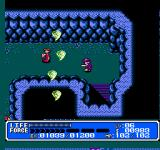 Crystalis NES The mightiest power-up of the wind sword unleashes mini-tornados