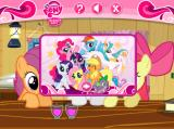 Hearts and Hooves Day Puzzles Browser Once you've finished assembling an image, this picture will show up as a reward