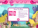 Hearts and Hooves Day Puzzles Browser As you probably already expect, instructions for the third game
