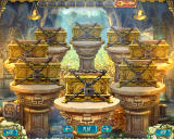 The Treasures of Montezuma 3 Windows The 1st treasury vault showing all 8 chests.