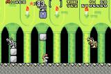 Super Mario World: Super Mario Advance 2 Game Boy Advance The yellow statues will jump